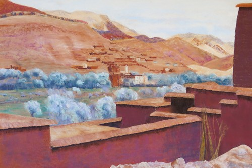 View From the Casbah 2015 16 x 24